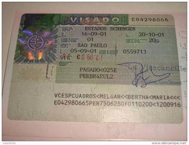 طلب تأشيرة اسبانيا من المغرب 12