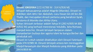 Makalah - Sejarah Dinasti Idrisiyah