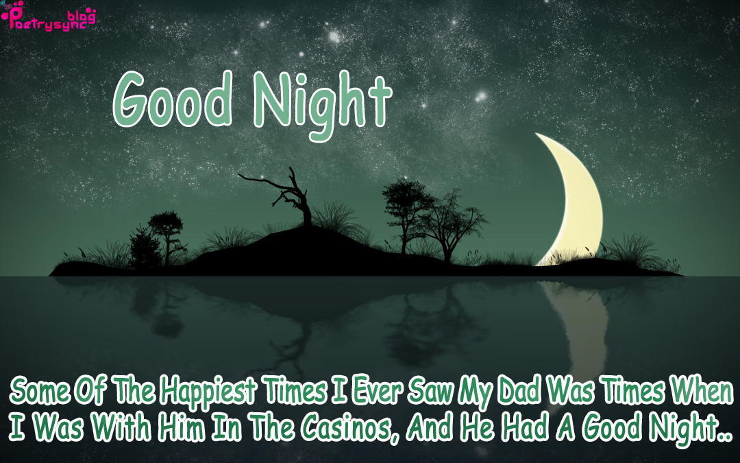 good night quotes with night images for facebook
