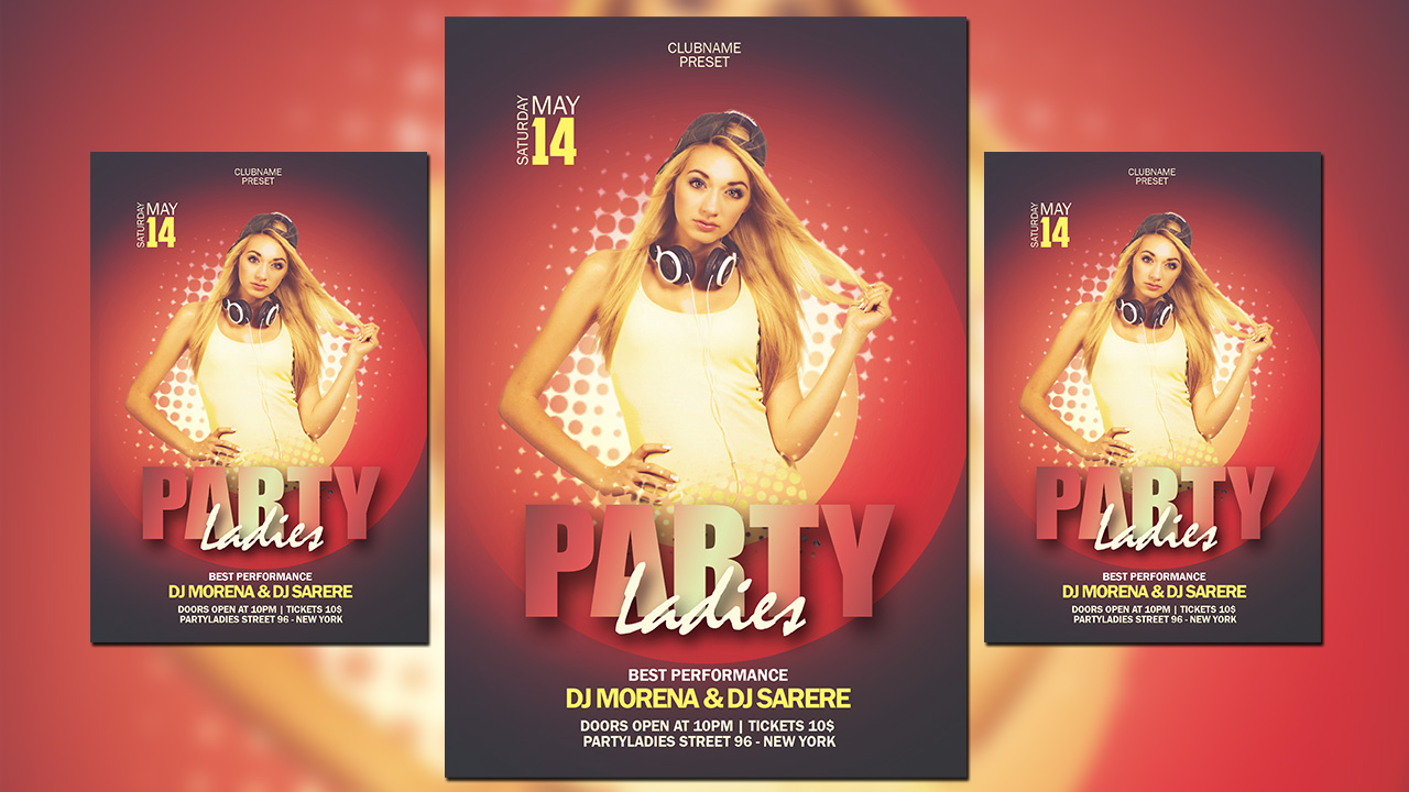 How To Create a Halftone Party Flyer In Photoshop