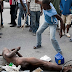 PHOTO: Man STRIPPED N*ked & Almost Beaten To Death After Being Caught Pant Down Having S*x With A Married Woman