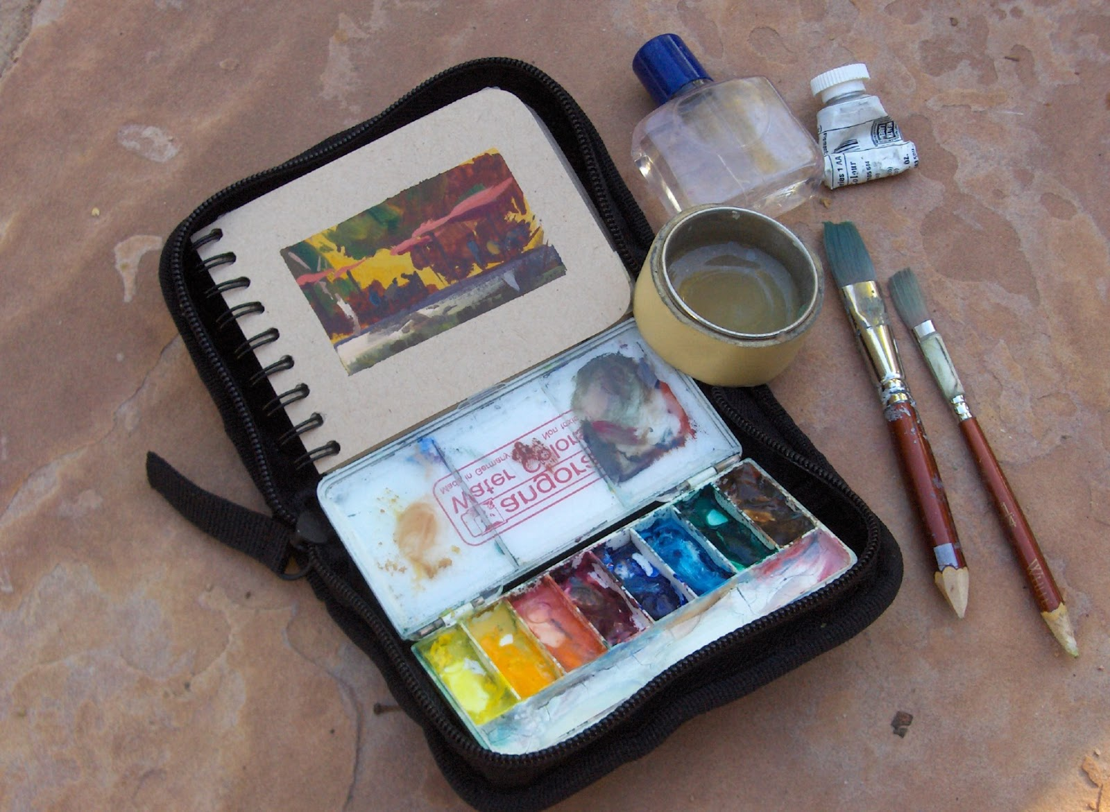 Best Watercolor Travel Kits