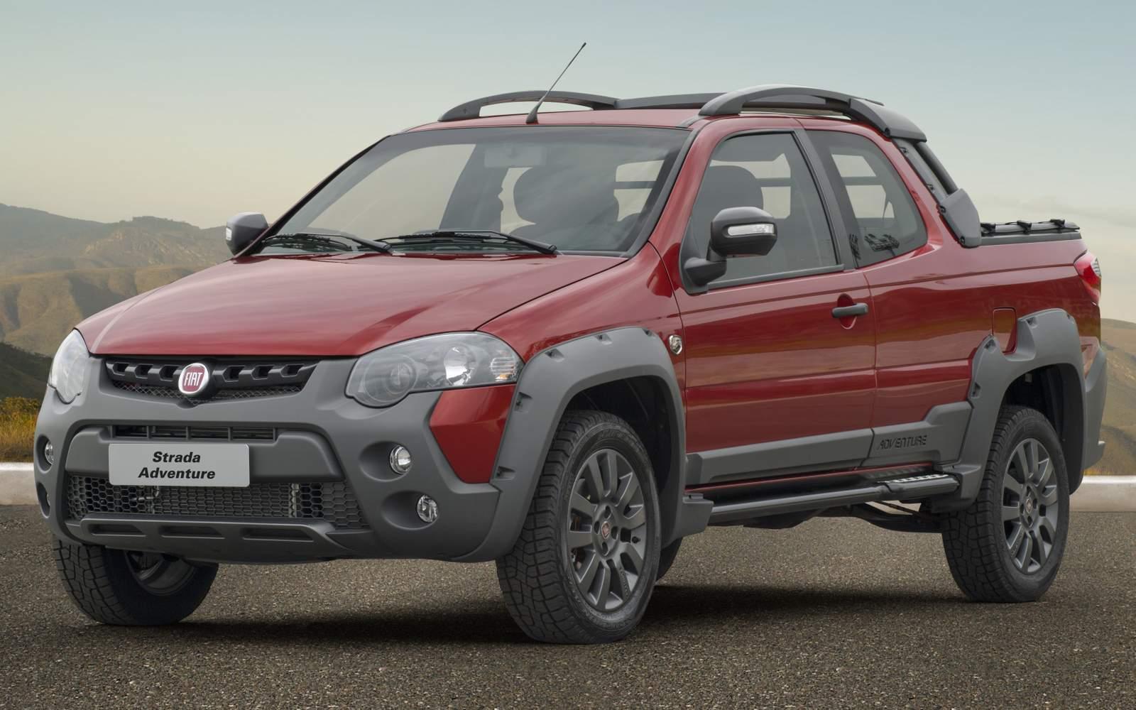 Fiat Strada 2017 - comercial leve mais vendido do Brasil