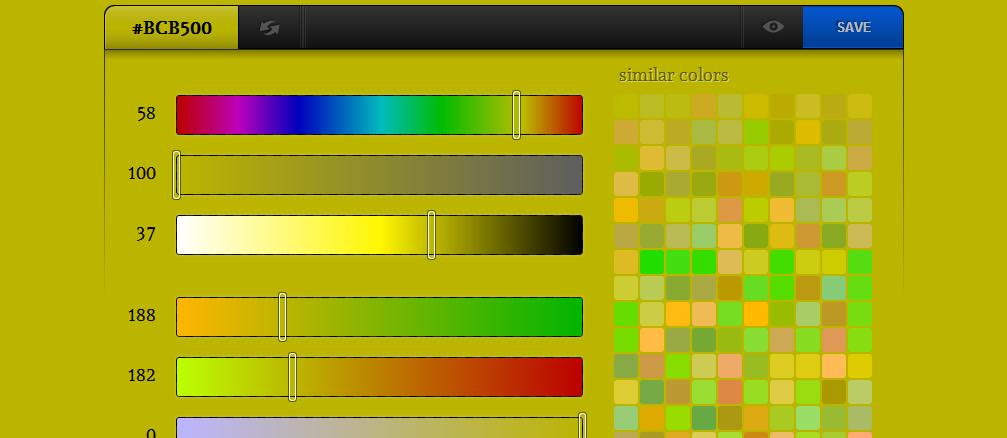 5 sites pour trouver des combinaisons de couleurs facilement. Black Bedroom Furniture Sets. Home Design Ideas