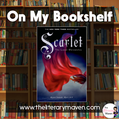 Scarlet, Book Two of the Lunar Chronicles, by Marissa Meyer puts a spin on the classic tale of Little Red Riding Hood. Scarlet's grandmother is missing and Wolf is assisting in the search, but he may also be involved in her disappearance. His true loyalties are revealed in the end, but by then it may be too late. Read on for more of my review and ideas for classroom use.