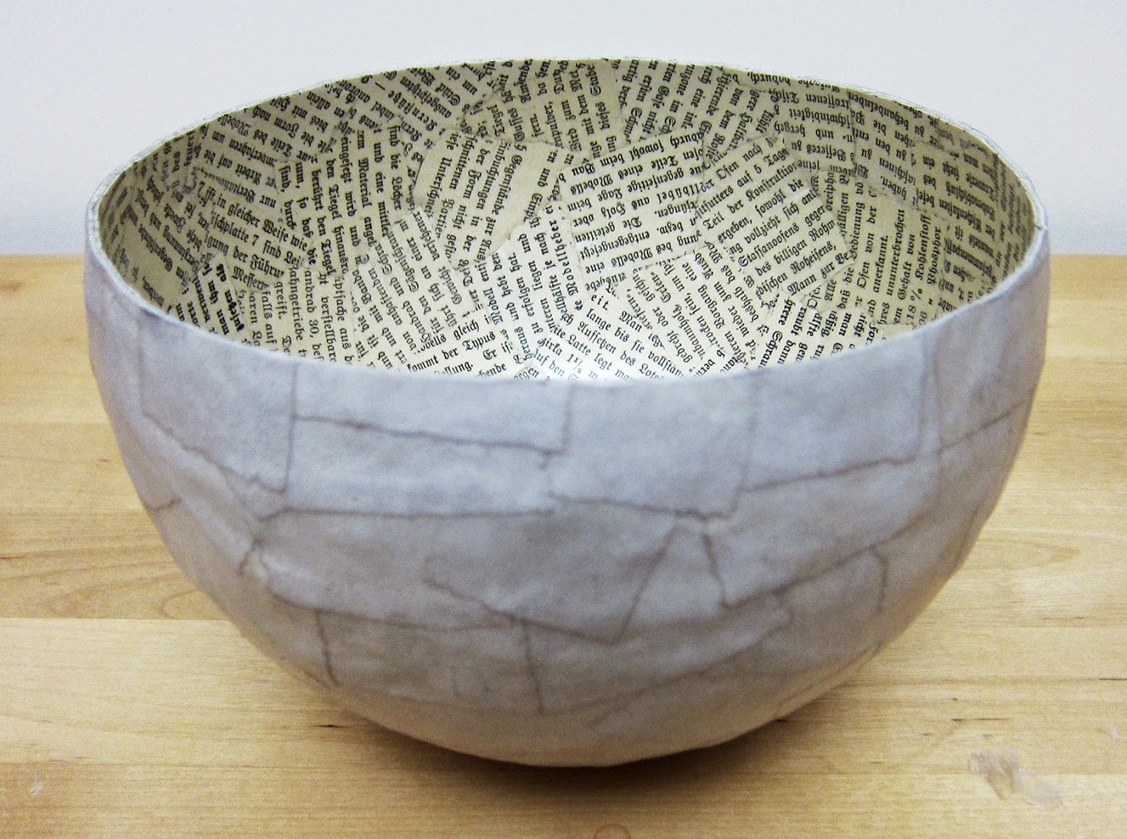 Fabric Bowls Mod Podge