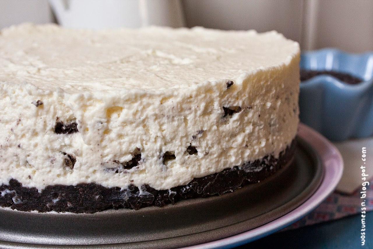 Wos Zum Essn Heut Bleibt Der Ofen Kalt Oreo Torte Ohne Backen