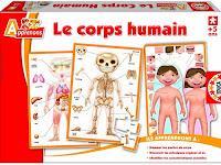 Le Corps humain Educa
