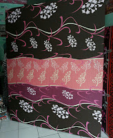 Kasur inoac motif bunga hitam inoactasik