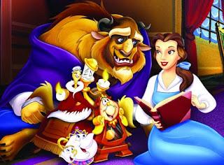 Contoh Narrative Text Cerita Fiksi Bahasa Inggris tentang Beauty and The Beast