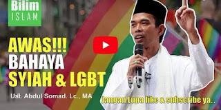 Pengajian Tausiyah Ceramah Ust Abdul Somad Bahaya Syiah dan LGBT [Video Full]