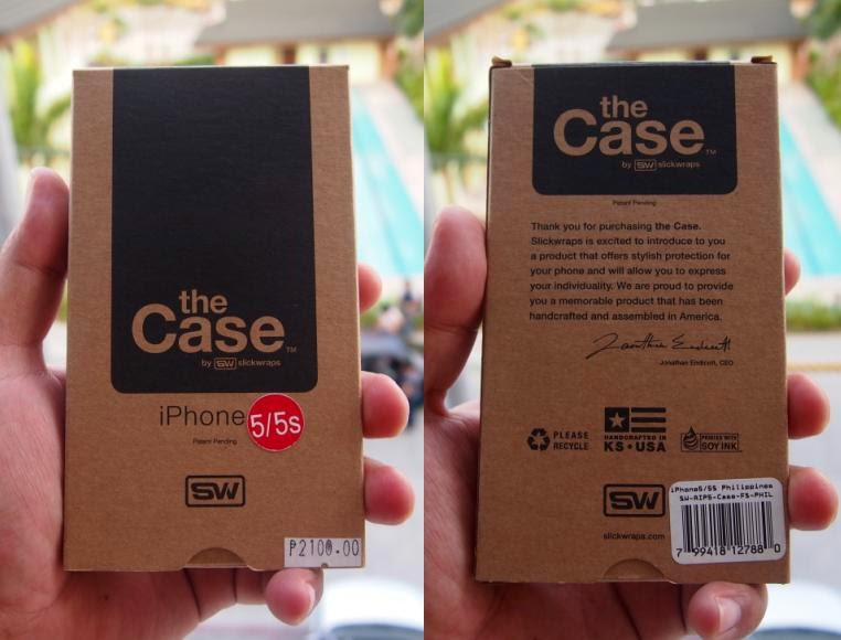 "Slickwraps ""The Case"" For iPhone 5/5s Review"
