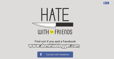 Descubre quien te odia en Facebook con Hate With Friends