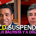 PLD suspende a Félix Bautista y a Díaz Rua