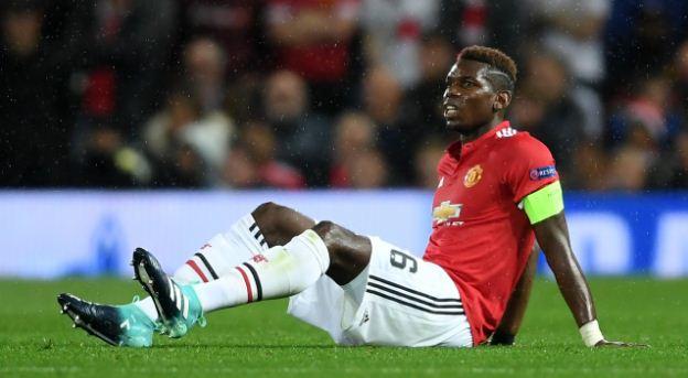 Manchester United: Pogba Absen Tiga Pekan