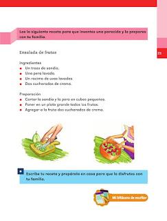 Apoyo Primaria Español 1er grado lección 8 La mamá de María