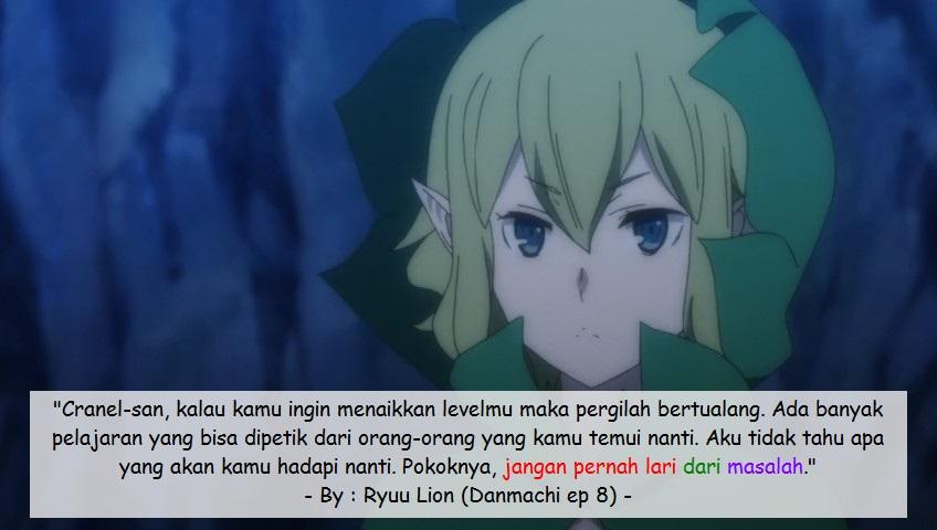 Danmachi Zeus Quotes