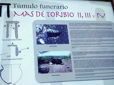 Túmulo funerario mas de Torubio II, III, IV