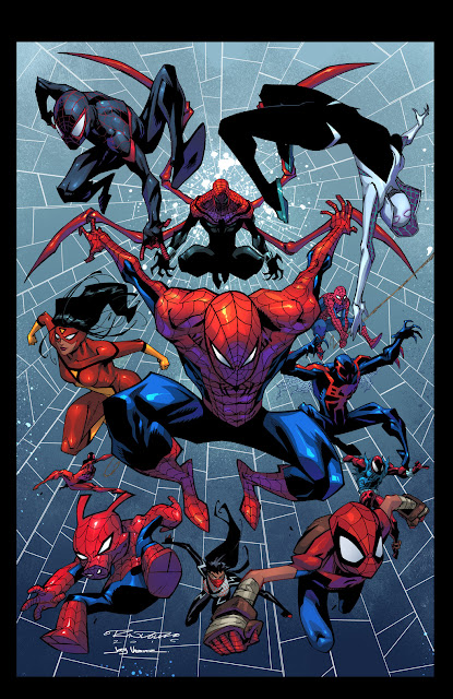 spider-verse all spider-men spider-man