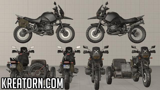 PUBG Motosiklet Ozellikleri