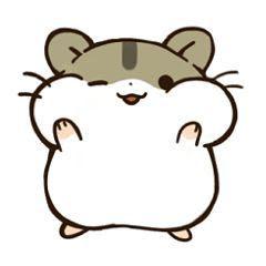 Imágenes Kawaii Tiernas Hermosas Amor animales para dibujar hamster