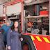 Alonso oye las reivindicaciones de los bomberos de Toledo