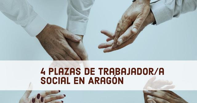 Convocatoria de empleo para trabajo social en Aragón