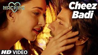 Cheez Badi Hei Mast Mast – Exclusive Remix from movie Machine Watch Online HD Video Exclusive