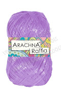 "ARACHNA ""Raffia"" цвет: 033 ярко фиолетовый"