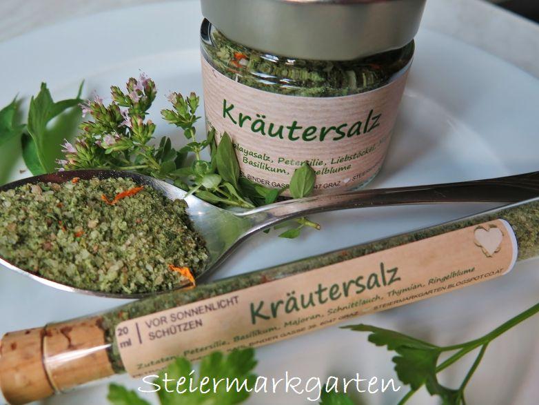 Kräutersalz-Steiermarkgarten
