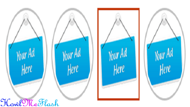 How to Add 125x125 Advertise Here Ad Banner Widget to Blogger
