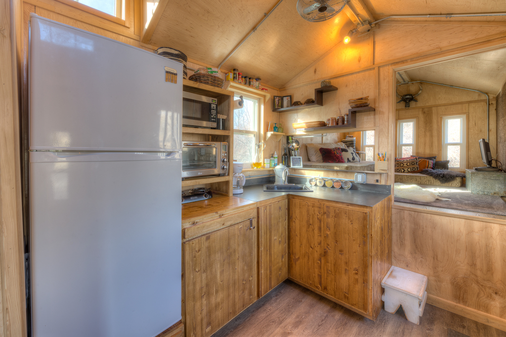 The Lewis and Clark Tiny House TINY HOUSE TOWN