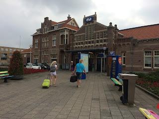 Station Zandvoort aan Zee, Holland