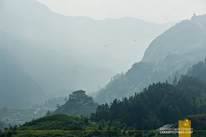 Easy Hike Cable Car View Sapa Vietnam