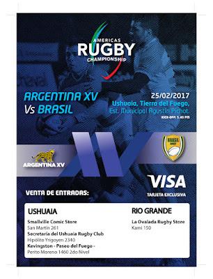 Gacetilla de Prensa: Argentina XV vs Brasil – ARC2017