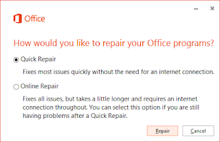Repair Microsoft Office 2016, office 2016 repair, office 2016 Diagnostics,