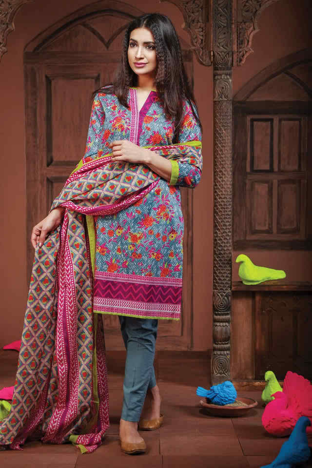 Khaddi Exclusive Lawn Collection 2016