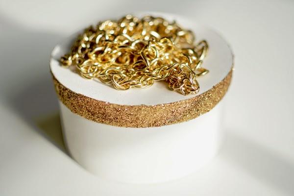 DIY Beautiful Jewellery Box - Weihnachtsgeschenke Selbst Basteln