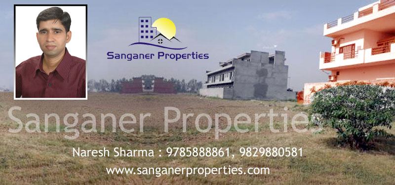 Residential Plot For Sale At Near Madrampura In Sanganer, Jaipur