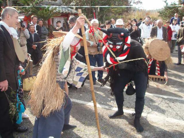 Nishinosita Shishimai (Lion Dance), Kuju-kuri Town, Chiba