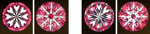 diamond hearts and arrows