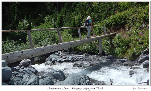 Summerland Trail: Crossing Fryingpan Creek