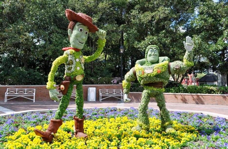 Epcot International Flower and Garden Festival Disney