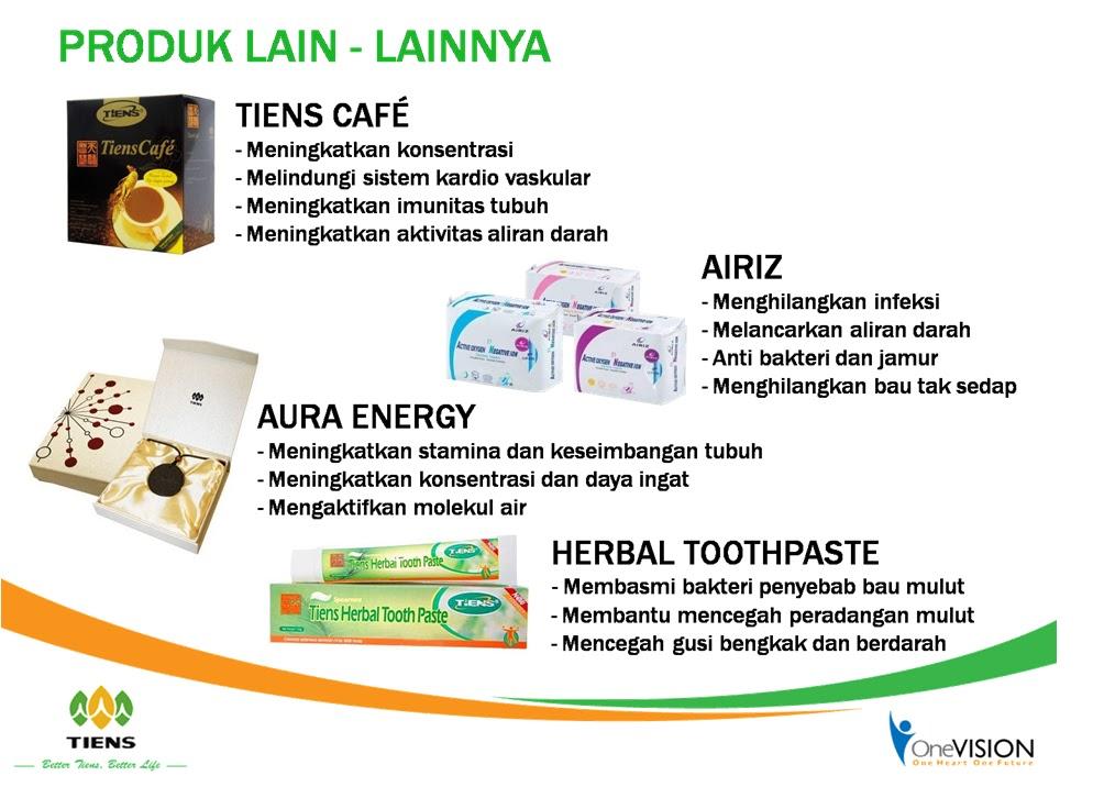 Bisnis Tiens Luar Biasa: Konsep Kesehatan Tiens - Produk Tiens