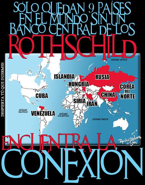 Resultado de imagen de SIRIA banco central controlado por los Rothschild.