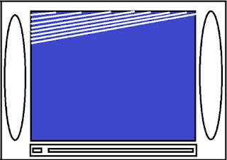 Muncul garis blanking putih diatas layar tv tabung dan cara memperbaikinya