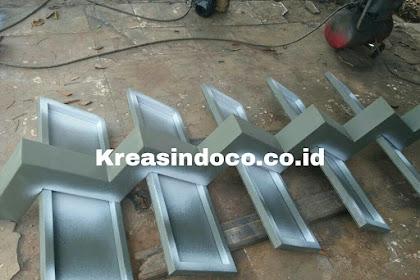 Proses Pembuatan Tangga Trap Besi