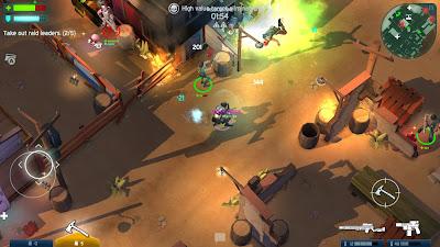 لعبة القتال و المغامرات Space Marshals 2 كاملة للاندرويد