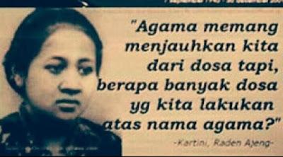 Apa Agama Ibu Kartini?