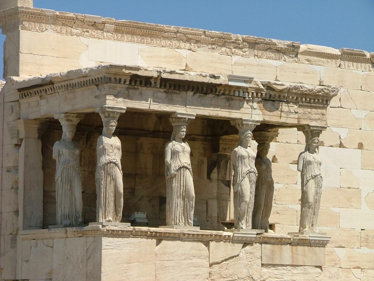 Templo Erecteion, Atenas